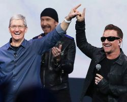 U2 - Apple event