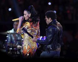 Katy Perry a Lenny Kravitz