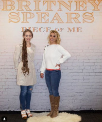 Britney Spears - meet and greet