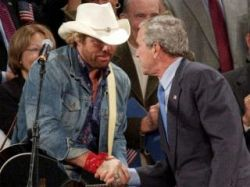Toby Keith a George W. Bush