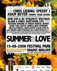 Summer Of Love 09 flyer