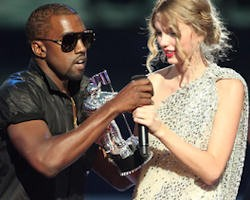 Kanye West a Taylor Swift