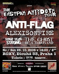Anti-Flag flyer