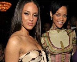 Alicia Keys + Rihanna