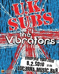 UK Subs flyer