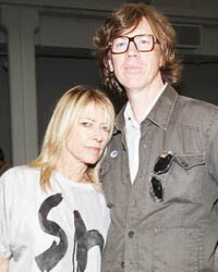 Kim Gordon & Thurston Moore (Sonic Youth)