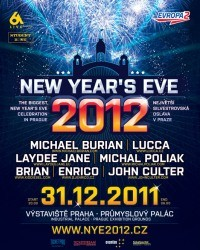 New Year's Eve 2012 flyer