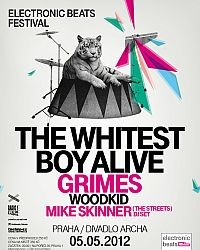 Electronic Beats (The Whitest Boy Alive) flyer