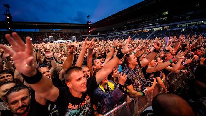 Iron Maiden v Praze v obrazech - musicserver.cz