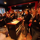 Kittchen, Echo release party, Musictown Record Store, Praha, 1.5.2014