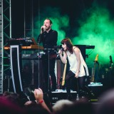 Chvrches, Lollapalooza 2015, Tempelhof Airport, Berlin, 12.-13.9.2015