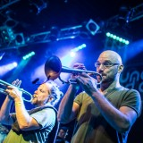 Youngblood Brass Band, Lucerna Music Bar, Praha, 23.10. 2017